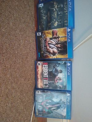 playstation 4 games ps4 for Sale in St. Louis, MO