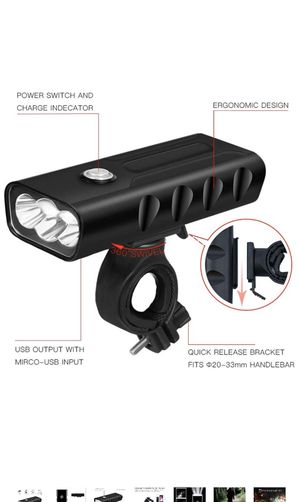 Bike light with usb charger for Sale in Kennesaw, GA