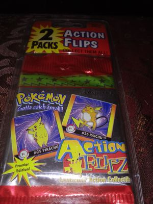 1985 Pokemon action flips for Sale in Columbus, OH