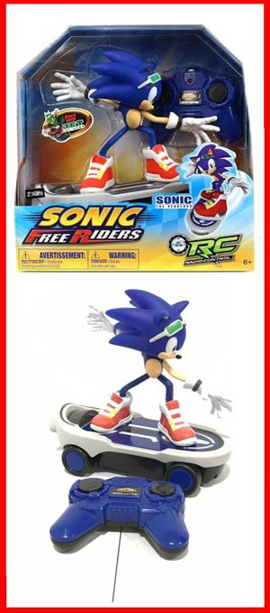 NEW! Sonic The Hedgehog Remote Controlled Skateboard RC kids toy video games cartoon anime Sega for Sale in Carson, CA