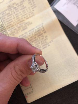 10k engagement/wedding ring. W/original receipt for Sale in Huntington Beach, CA