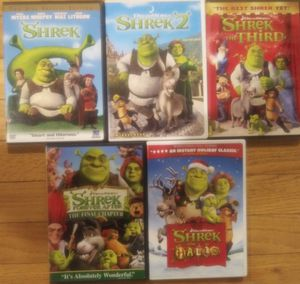Shrek lot dvds for Sale in Stafford Township, NJ