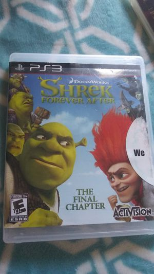 Shrek PS3 Video Game(The Final Chapter) for Sale in New Baltimore, MI