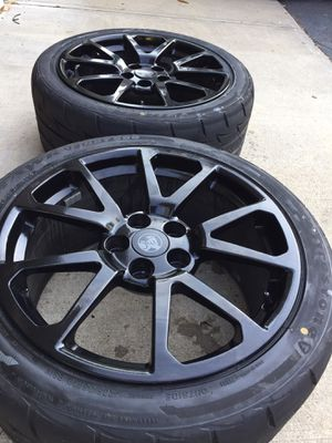 Cts-v sedan wheels and Indy 500 tires for Sale in Plainville, CT