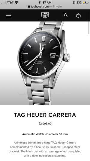 Tag Heuer Carrera watch (men's/women's) for Sale in San Diego, CA