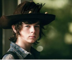 The Walking Dead Chandler Riggs Original Autographed Photo for Sale in Farmville, VA