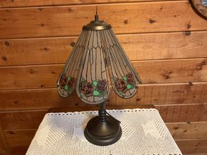Vintage stain glass lamp for Sale in Mission Viejo, CA