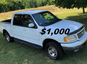 ✅💲1,OOO I m selling URGENT this Beautiful 2002 Ford F150 nice Family truck XLT Super Crew Cab 4-Door Runs and drives very smooth✅ for Sale in Washington, DC