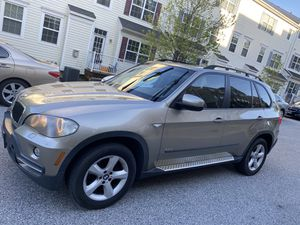 2008 BMW X5 v6 3.0 4wd 140k mikes panoramic roof for Sale in Elkridge, MD