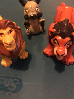 1994 Lion King Figures for Sale in Fontana,  CA