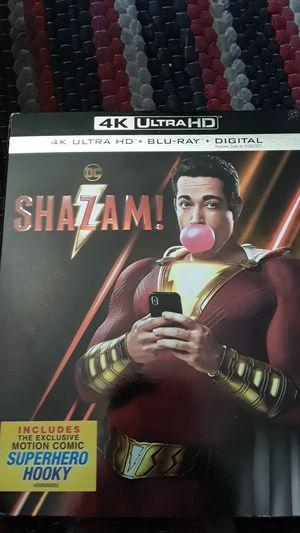 Shazam! Brand new 4k movie for Sale in Piedmont, CA