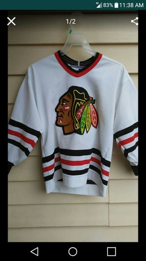CCM Chicago BlackHawk Youth Jersey for Sale in Nashville, TN
