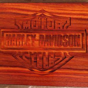 Harley Davidson Wood Carvinf for Sale in Waddell, AZ