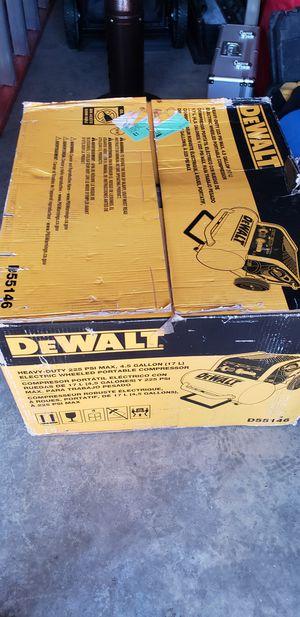 Dewalt Compressor for Sale in Hayward, CA