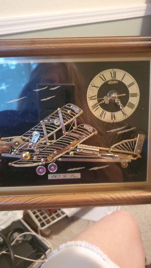Airplane clock for Sale in Tacoma, WA