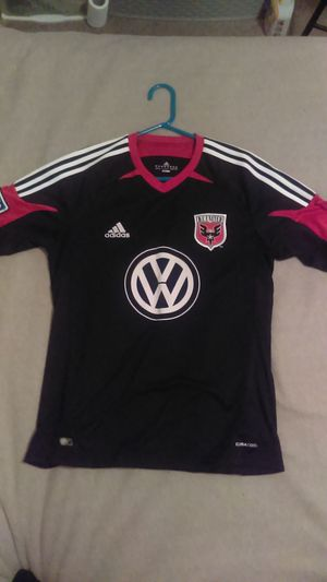 Size M Adidas DC United MLS soccer jersey for Sale in San Angelo, TX