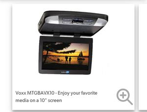 Audiovox MTG vehicle DVD player w/10'in ,also comes w/ a pair of wireless headsets for Sale in Grover Beach, CA