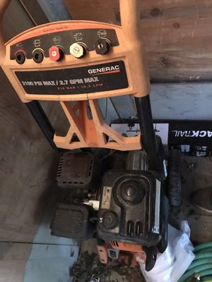 Pressure washer + equipment for Sale in Greer, SC
