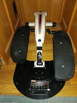 Whisper Quiet 8 Foot Adjusted Difficulty Levels FitDesk Under Desk Elliptical Workout Machine Gym with Digital Reader for Sale in Lemon Grove, CA