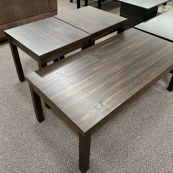 New in Box 3 pcs Coffee End Side Table Set