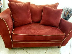 Micro fiber sofa set with a twin size bed. Great condition. for Sale in Pembroke Pines, FL
