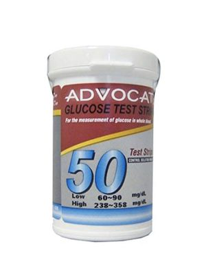 Advocate Redi-Code Blood Glucose Test Strips, 50 Count for Sale in Bethesda, MD