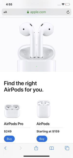 A. AirPods for Sale in Sacramento, CA