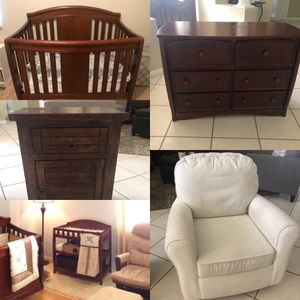 Nursery Furniture Set - 7 Pieces for Sale in Winter Springs, FL