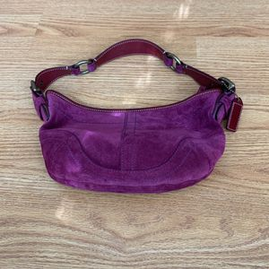 Women's Coach Purse Suede for Sale in Hacienda Heights, CA