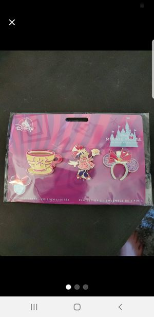 Disney Minnie Mouse Main Attraction March LE Pins! for Sale in Fresno, CA