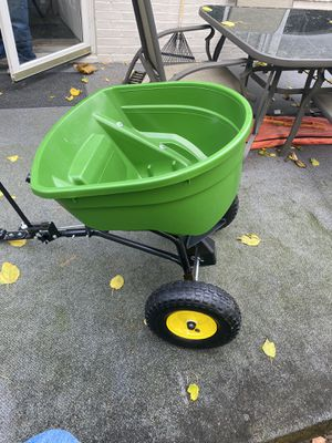 John Deere spreader. Brand new. Never used. Asking $150 for Sale in West York, PA