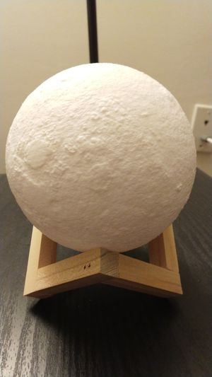 Moon lamp (with two colors lighting) for Sale in Baltimore, MD