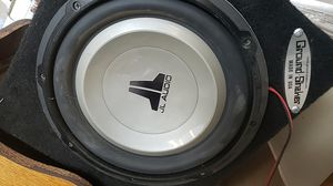 1-12 jt audio speaker & 1000 watt amp for Sale in Modesto, CA