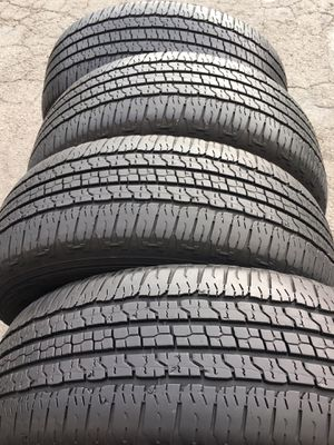 Tires 275 65 18 goodyear for Sale in Pittsburg, CA