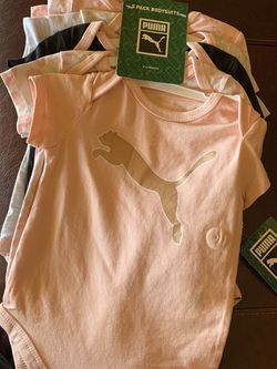 Puma Brand Baby Suit - 5 Body Suits 💕🌸 for Sale in Norman,  OK