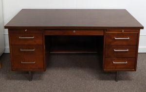 Mid-Century Executive Desk Alama Desk Company for Sale in Burlington, NC
