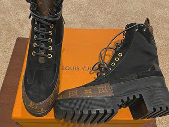Women's LOUIS VUITTON LAUREATE PLATFORM DESERT BOOTS Shoes for Sale in Edgewater Park,  NJ