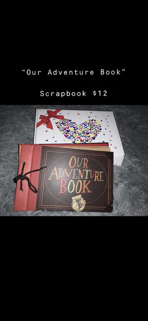 """ our adventure book"" scrapbook for Sale in Elkridge, MD"