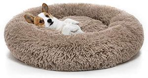 Orthopedic Dog Bed Comfortable Donut Cuddler Round Dog Bed Ultra Soft Washable Dog and Cat Cushion Bed for Sale in Fresno, CA