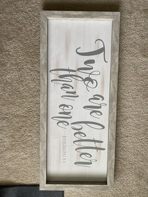 Wooden Wall Decor for Sale in Cherry Hill, NJ