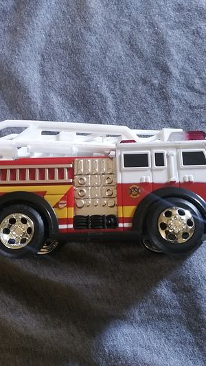 Toy fire truck with extendable ladder for kids for Sale in Fort Worth, TX