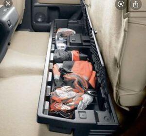 Toyota Tundra Double Rear Seat Storage for Sale in San Antonio, TX