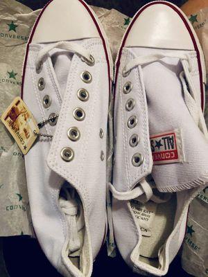 White Converse - 6.5 Women's for Sale in Dallas, TX