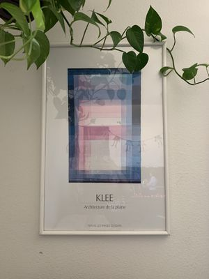 Art history mid century frame Klee abstract for Sale in Los Angeles, CA