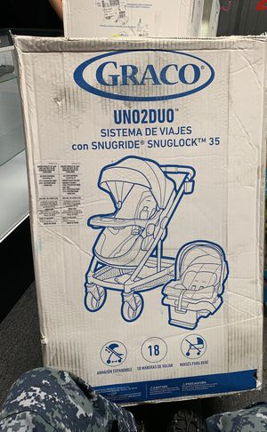 GRACO brand new UNO2Duo stroller and car seat combo for Sale in Washington, DC