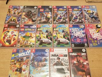 Various Nintendo Switch Games for Sale in Seattle,  WA