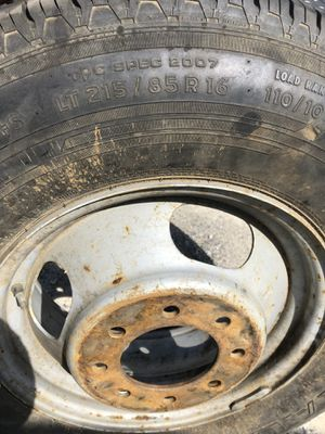 (1) LT215/85R16 single wheel for Sale in Garrison, MD