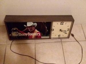 Antique Marlboro clock for Sale in Coventry, RI