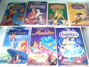 Walt Disney Classics VHS Collection for Sale in Raleigh, NC