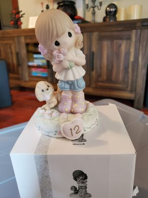 New precious moments growing in grace age 12 for Sale in San Dimas, CA